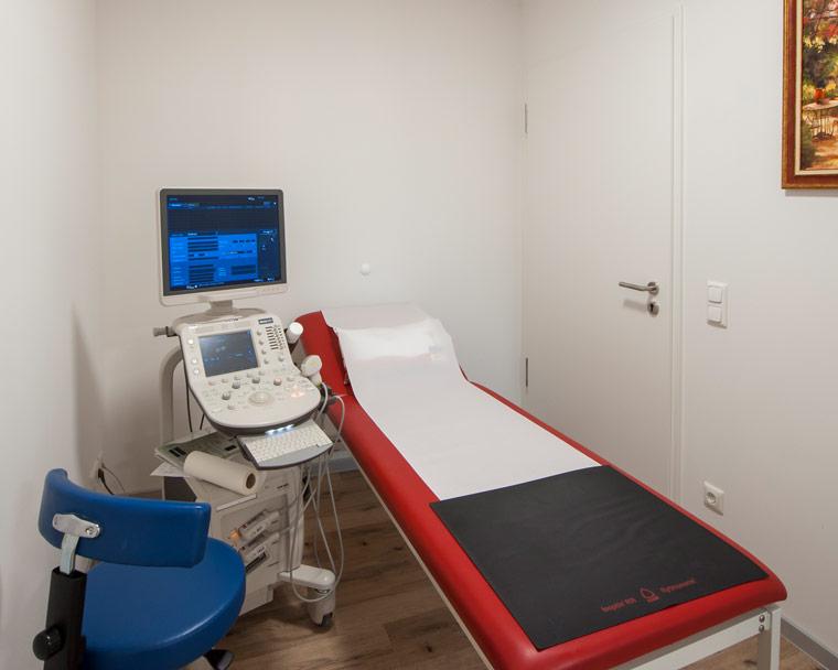 Behandlungsraum von Hausarzt in Ebersberg